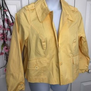 Studio Works Canary Yellow Utility Jacket 1X